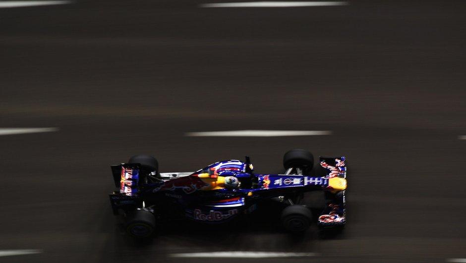 F1 Singapour : Vettel reprend le contrôle aux essais libres 2