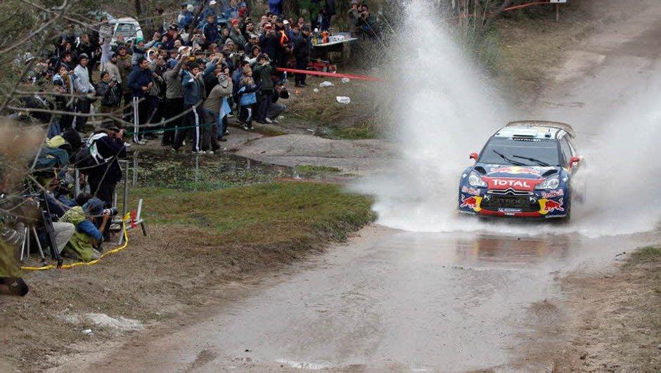 WRC Finlande : Loeb prend la main jeudi soir