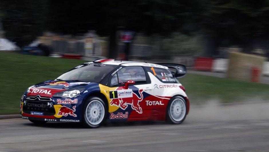WRC - Rallye d'Alsace : Loeb toujours en tête, crash pour Solberg