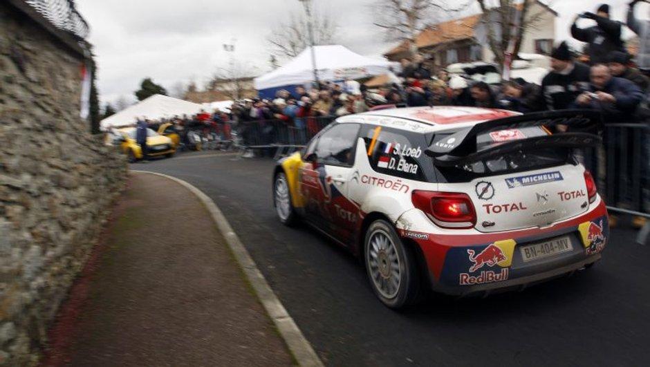 WRC Monte-Carlo 2012 - Jour 3 : Loeb confirme, Hirvonen en forme