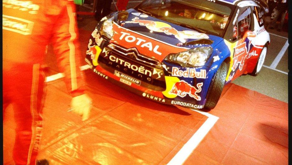 WRC Monte-Carlo 2012 - Jour 1 : Loeb profite de l'abandon de Latvala