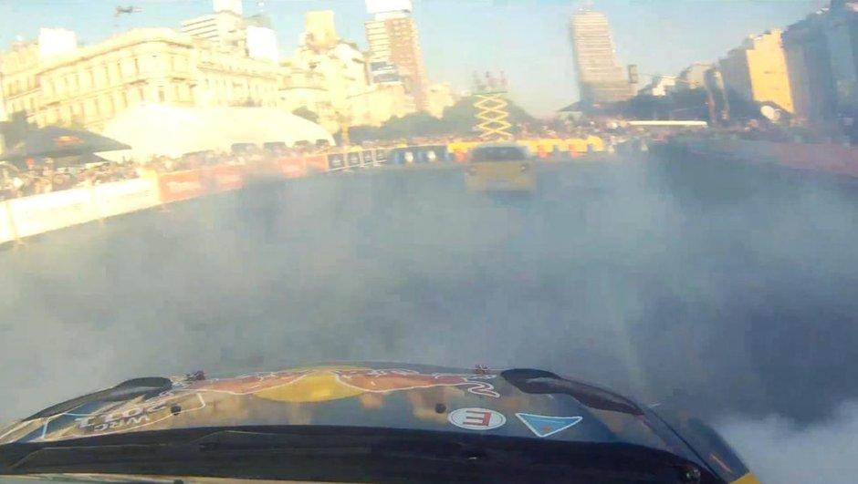 Vidéo : Loeb en gymkhana avant le Rallye WRC d'Argentine