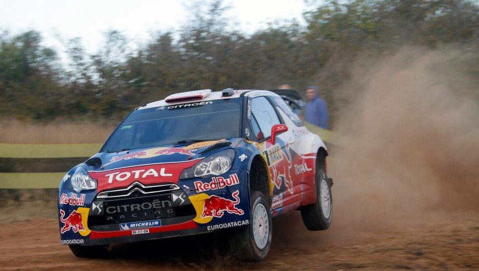 WRC Rallye d'Espagne : Loeb reprend la tête a la fin du Jour 1