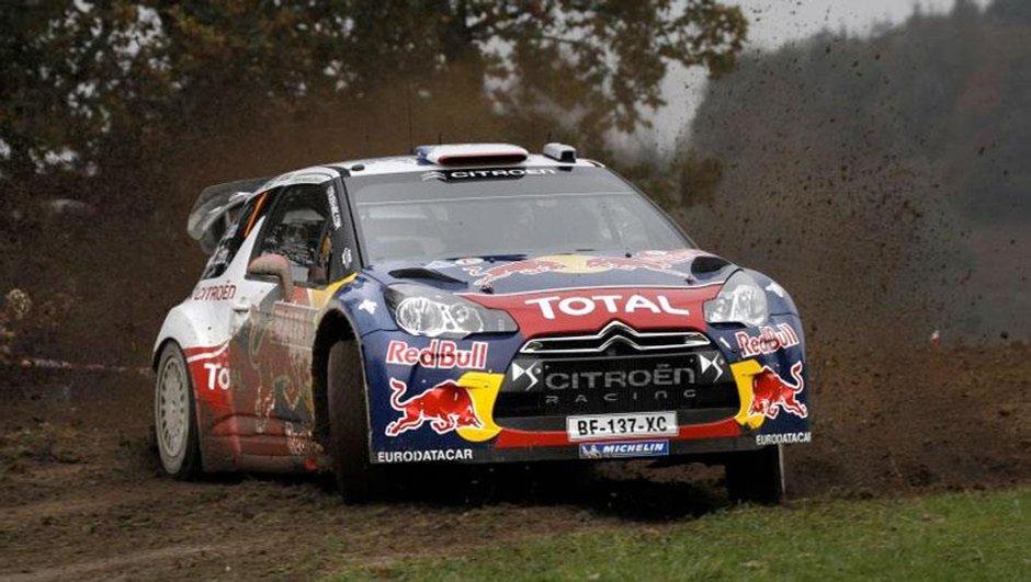 WRC Rallye GB Jour 1 : Loeb 1er, en bonne position pour le titre