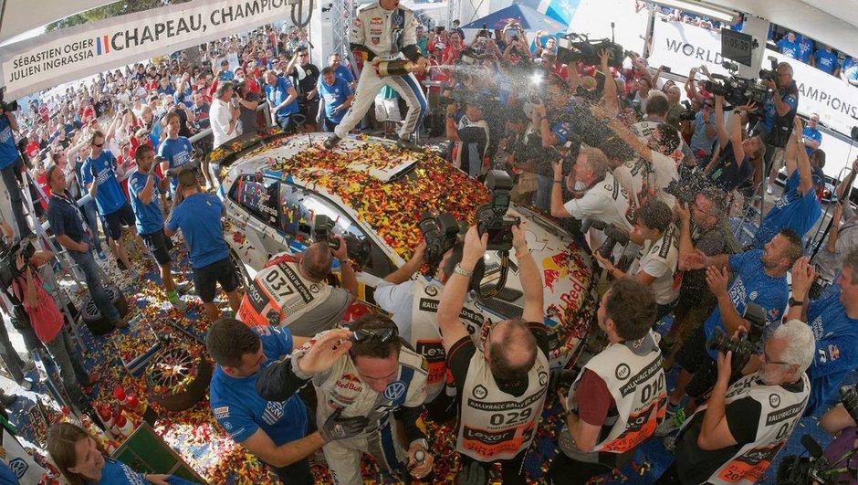 Sports mécaniques : Ogier et Marquez sont géants, Marussia et Caterham dans le rouge