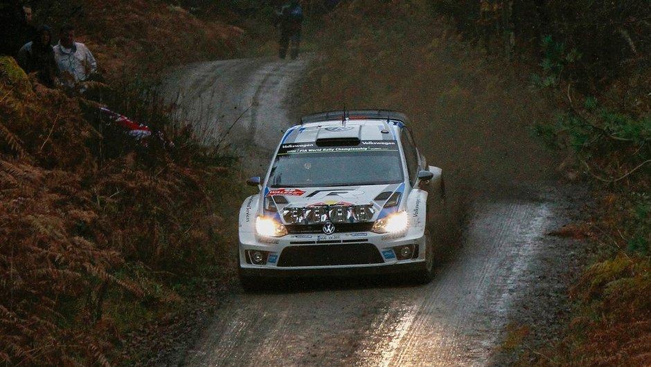 Rallye WRC de Grande-Bretagne 2014 : Ogier prend les devants vendredi matin