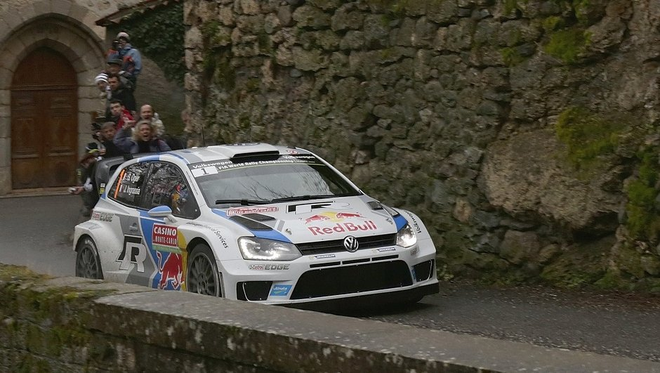 WRC - Rallye de Monte-Carlo 2014 : Ogier loin devant Bouffier vendredi soir