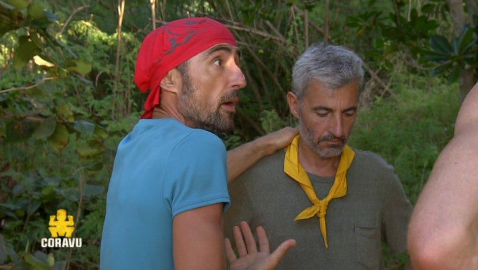 Sébastien crève l'abcès avec Manu et Fabian