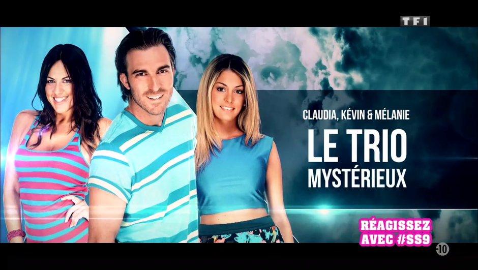 Kevin, Claudia et Mélanie, retour sur la première semaine du trio des aventuriers