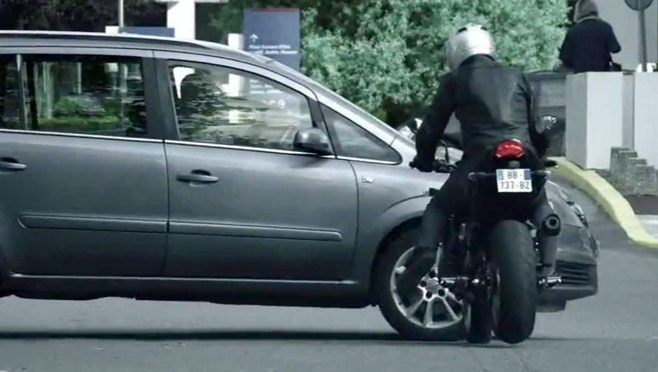 La sécurité routière lance sa nouvelle vidéo pour les Motards