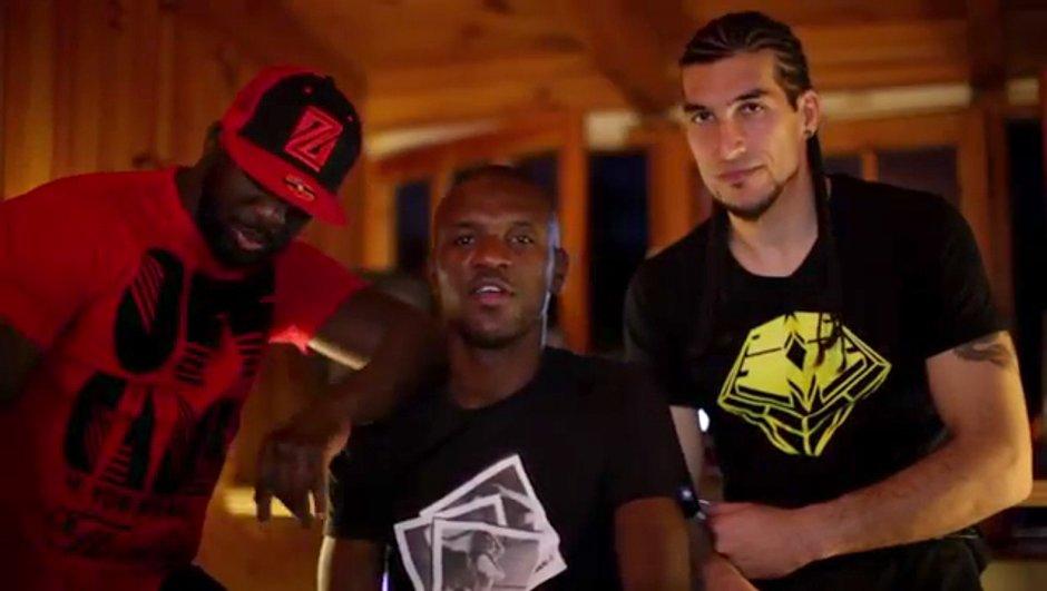 Insolite : Sefyu en studio avec Abidal et Pinto ! (vidéo)