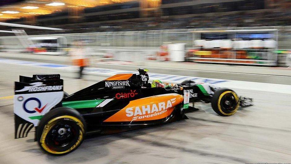 F1 2014 - Grand Prix de Bahreïn : Bottas et Pérez à l'affut