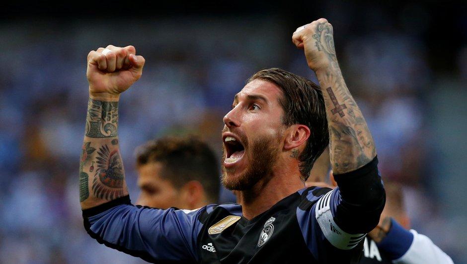 Insolite : encore un look improbable pour Sergio Ramos
