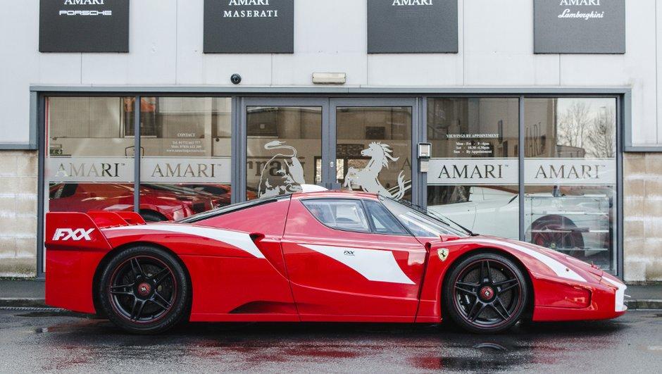 Occasion du Jour : L'unique Ferrari FXX homologuée route en vente