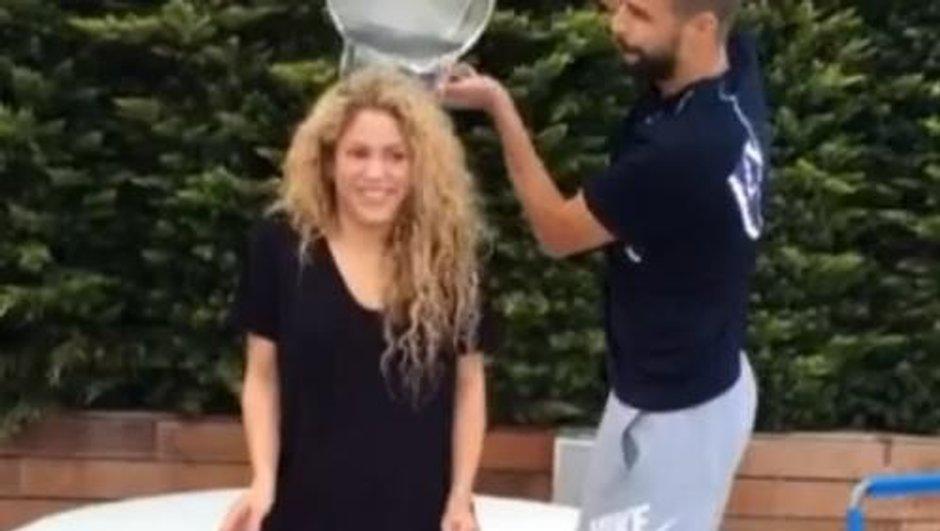 Ice Bucket Challenge : Shakira toute mouillée, Zidane nominé !