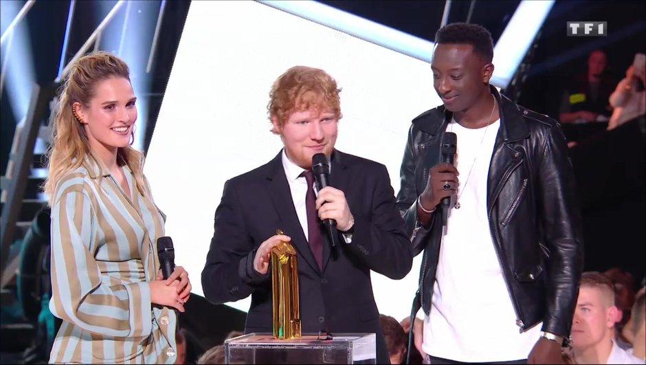 Ed Sheeran sacré pas moins de trois fois lors de la cérémonie !
