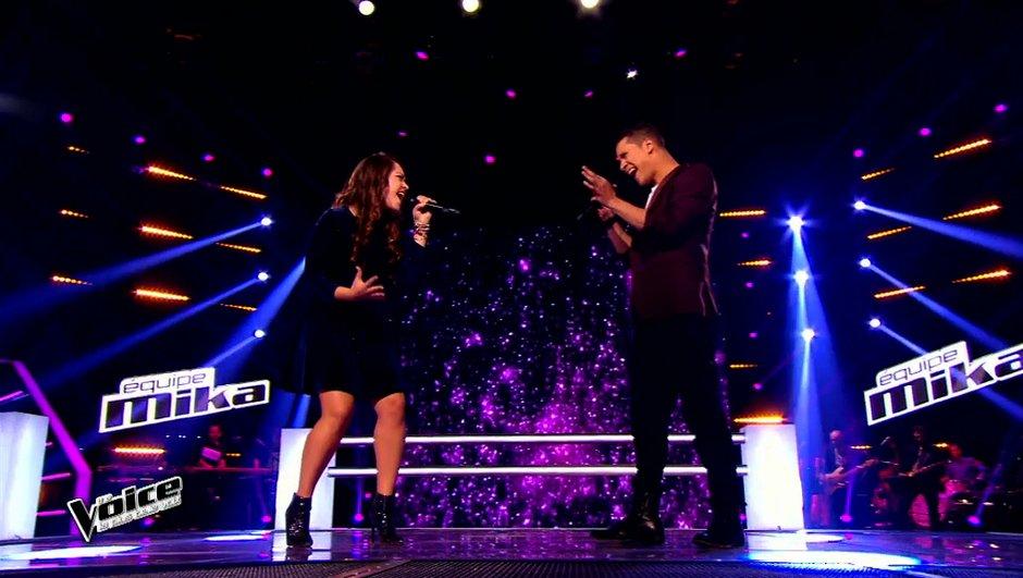 The Voice 4 - Les battles : Sharon Laloum poursuit l'aventure, pas Andrew