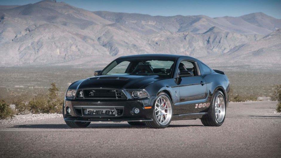 Salon de New York 2013 : Shelby ramène une Mustang de 1.200 ch !