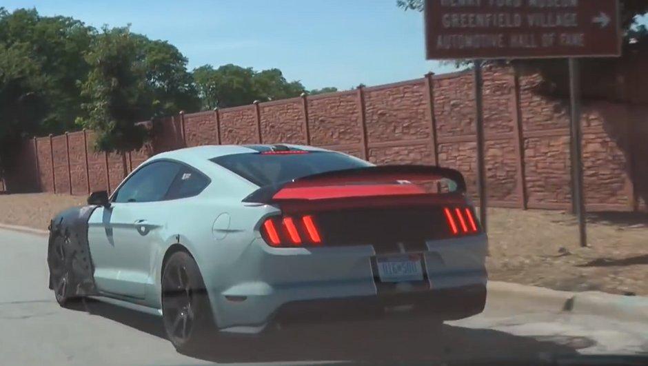 Vidéo : La future Mustang Shelby GT500 2018 rugit enfin