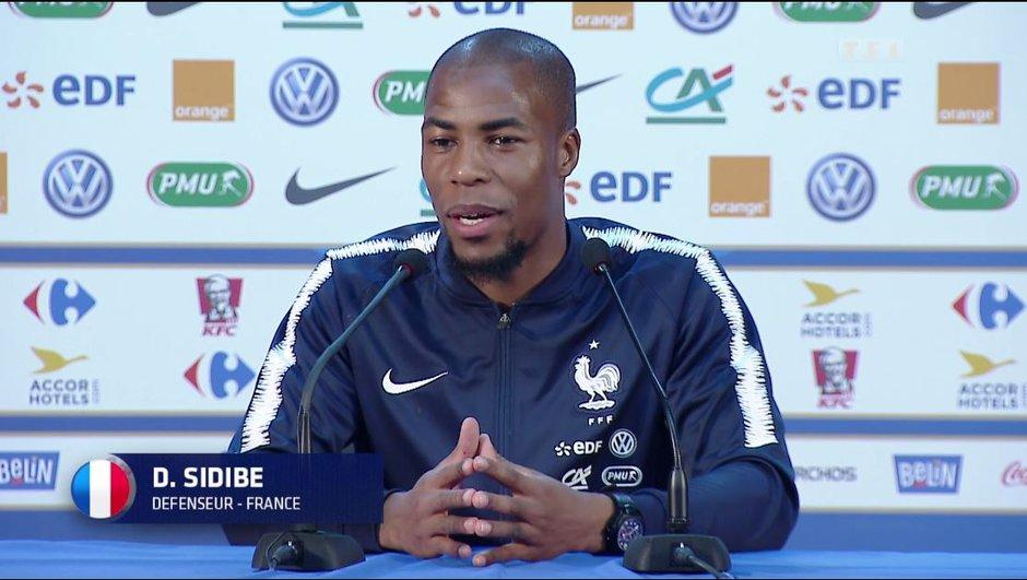 Touché à la cheville, Sidibé quitte l'entraînement des Bleus prématurément