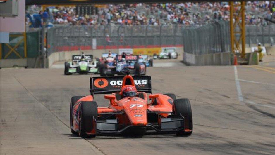 Indycar 2014 : Simon Pagenaud vainqueur à Houston