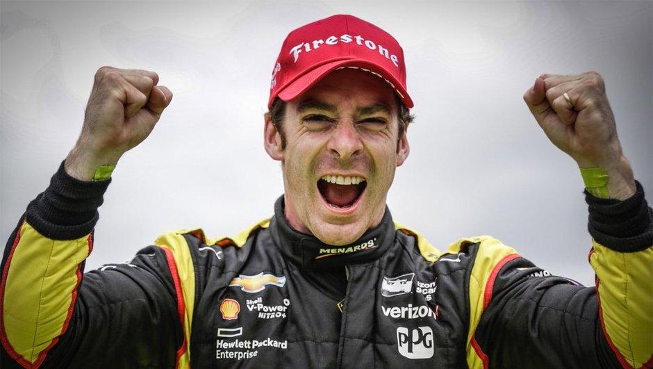IndyCar - GP d'Indianapolis 2016 : une troisième victoire de suite pour Simon Pagenaud