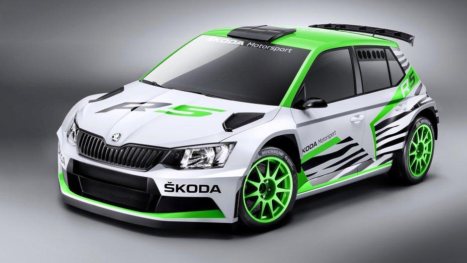 Rallye : Skoda présente sa Fabia R5 pour 2015