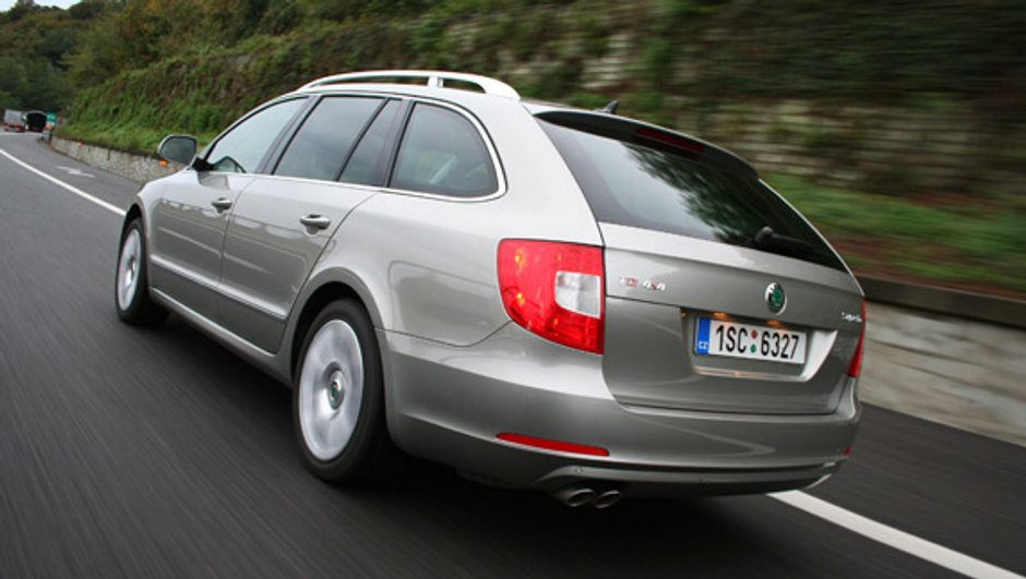 La Skoda Superb Combi la joue break