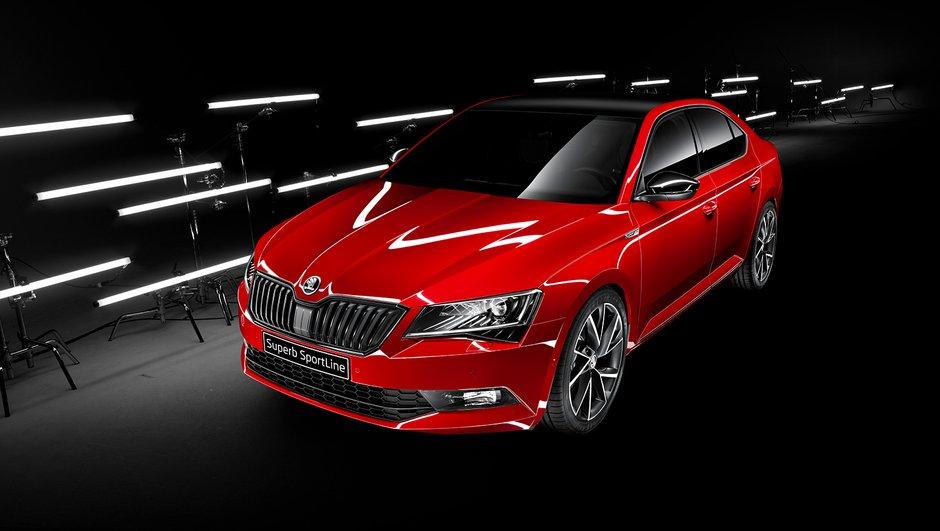 Škoda Superb Sportline : présentation officielle et prix à partir de 34.690 €