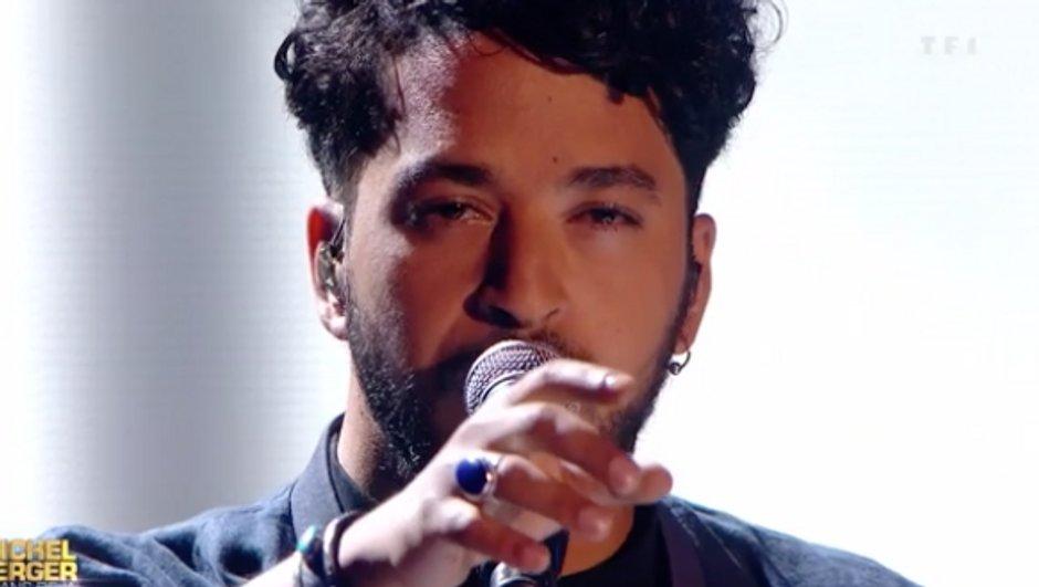 Slimane reprend «  Diego libre dans sa tête  » de Michel Berger pour une soirée événement (VIDEO)