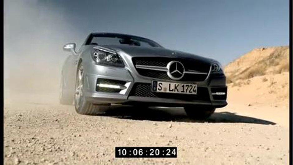 La Mercedes SLK 2011 en fuite sur Internet