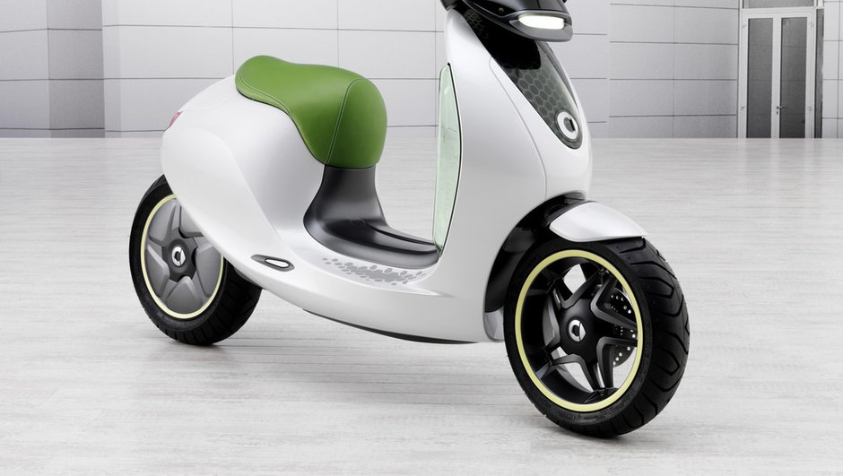 Le scooter électrique de smart confirmé pour 2014 !