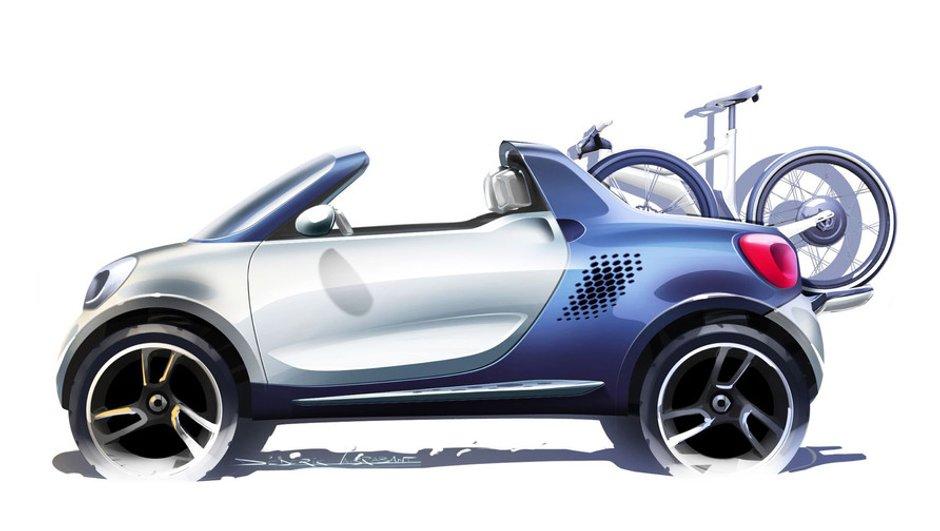 Salon de Détroit 2012 : Smart for-us Concept, premières images
