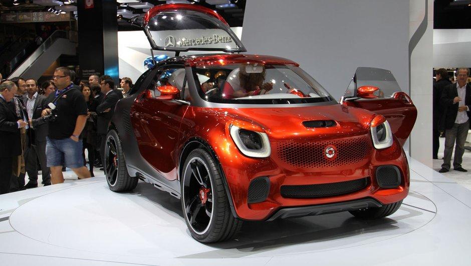Mondial de l'Auto 2012 : Smart ForStars, le concept-star du Mondial
