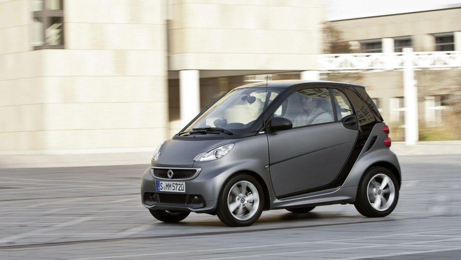 smart fortwo : voici la voiture la plus volée en France en 2013