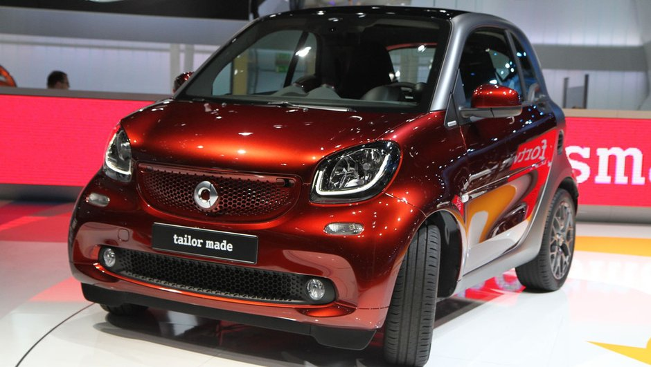 Mondial de l'Automobile 2014 : Smart fortwo et forfour, le duo de citadines est reformé
