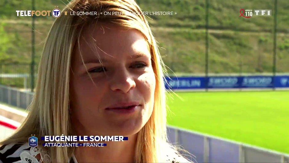 """[EXCLU Téléfoot 7/04] - Le Sommer : """"J'aurais été malheureuse, si je n'avais pas eu le foot"""""""