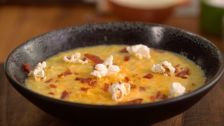 Soupe de maïs à l'oignon