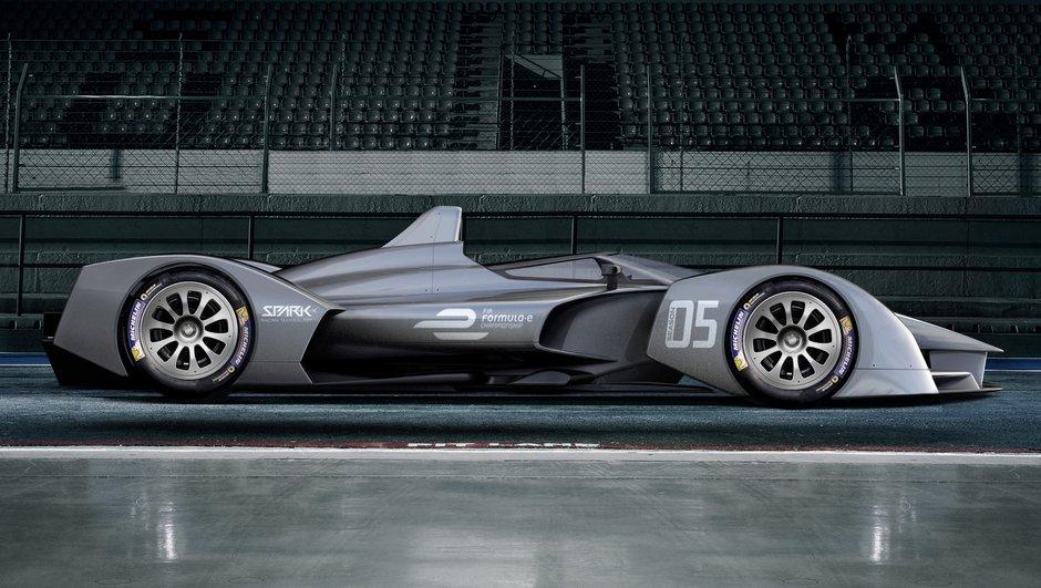 Formule E : Le concept du futur signé Spark