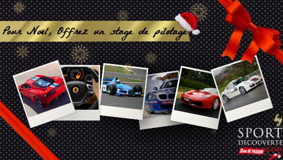 Idée Cadeau de Noël : Les stages de pilotage