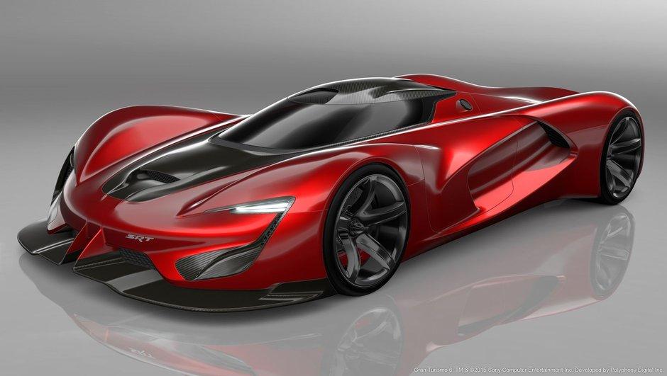 SRT Tomahawk Vision GT : une créature virtuelle de 2.590 ch pour Gran Turismo !