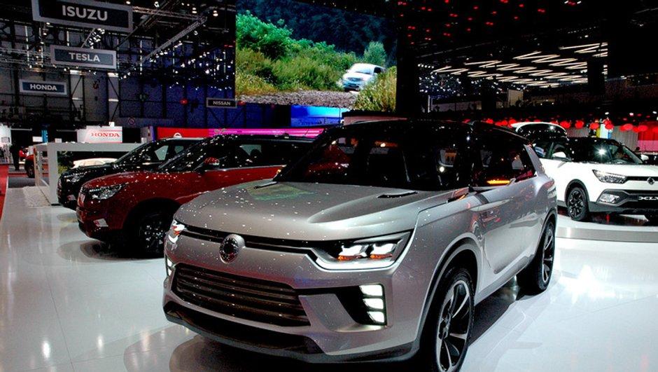 Salon Genève 2016 : SsangYong dévoile sa vision du SUV de demain