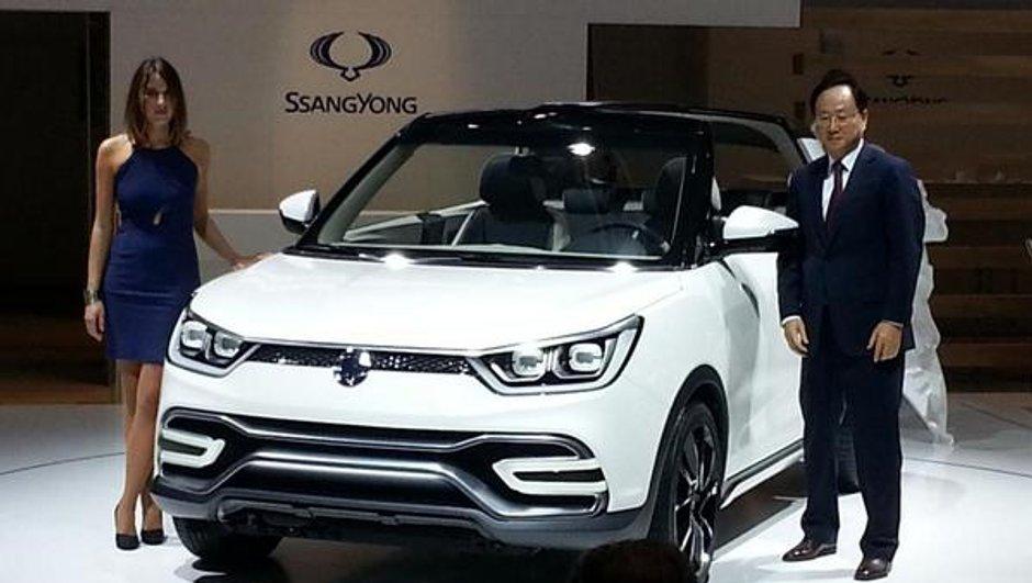 Mondial de l'Automobile 2014 : SsangYong XIV-Air et XIV-Adventure Concepts, l'heure du renouveau ?