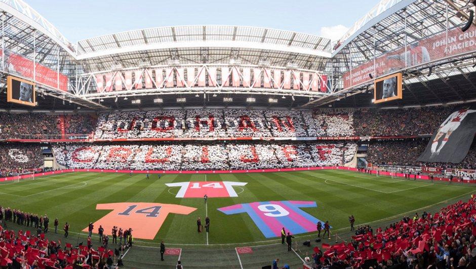 Le stade de l'Ajax renommé la « Johan Cruijff ArenA »