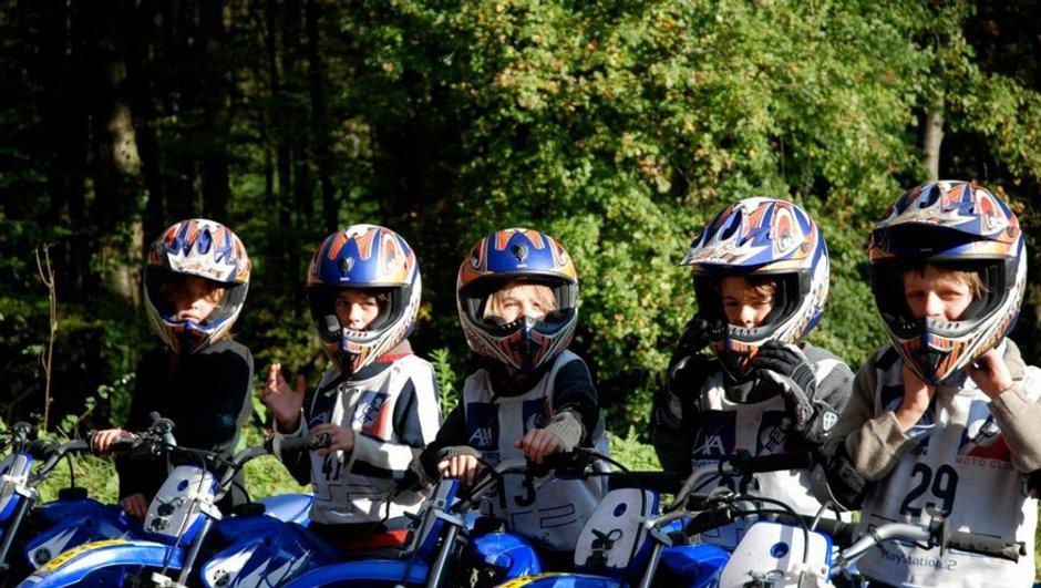 Idée cadeau : stage de moto pour les 7 - 13 ans