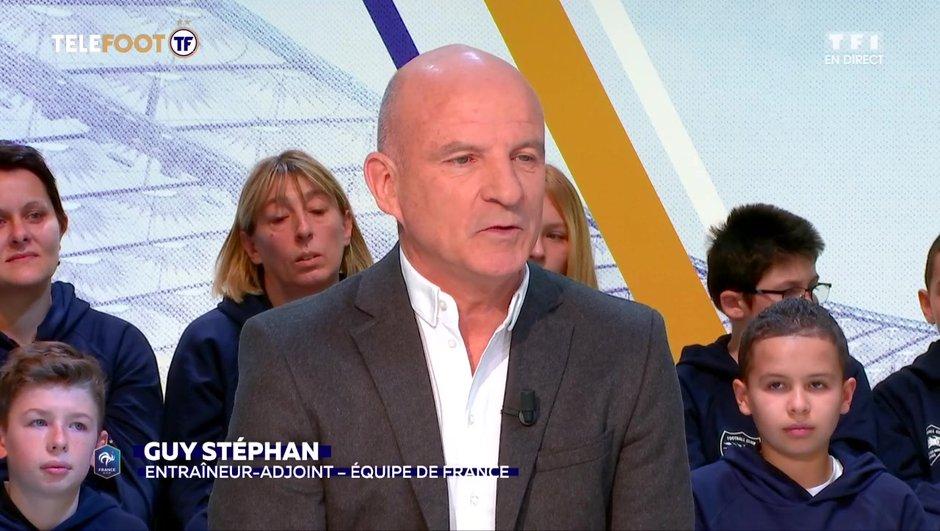 """[TELEFOOT 20/01/2019] Euro 2020 - Guy Stéphan : """"Les Bleus doivent terminer en tête de leur groupe"""""""
