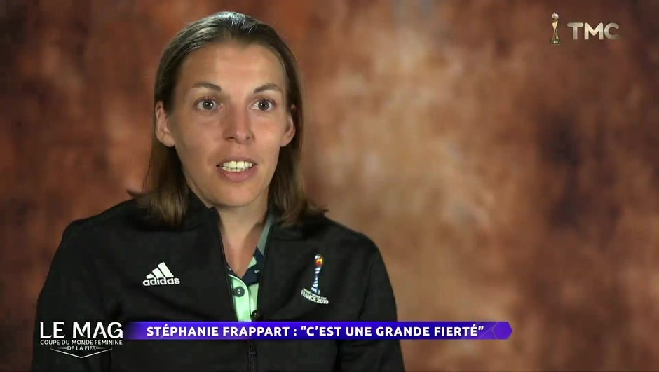 Stéphanie Frappart va arbitrer la finale Etats-Unis - Pays-Bas