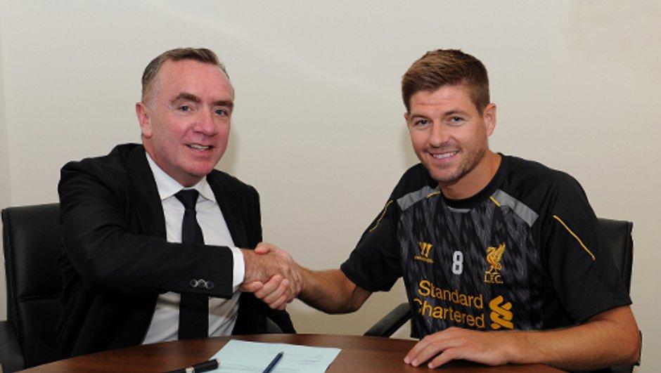 Liverpool - Officiel : Gerrard rempile encore !