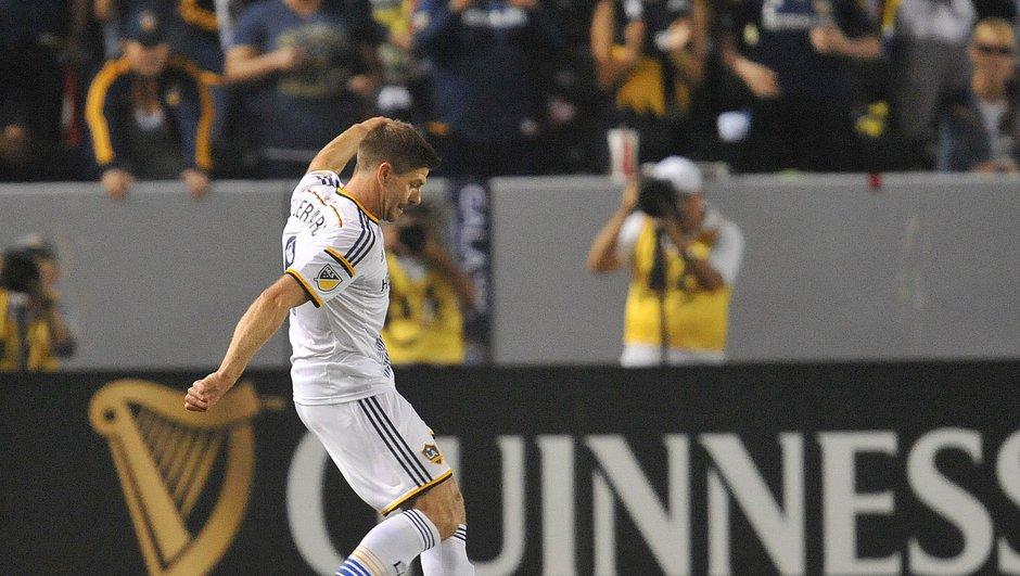 Los Angeles Galaxy : Steven Gerrard réussit ses débuts