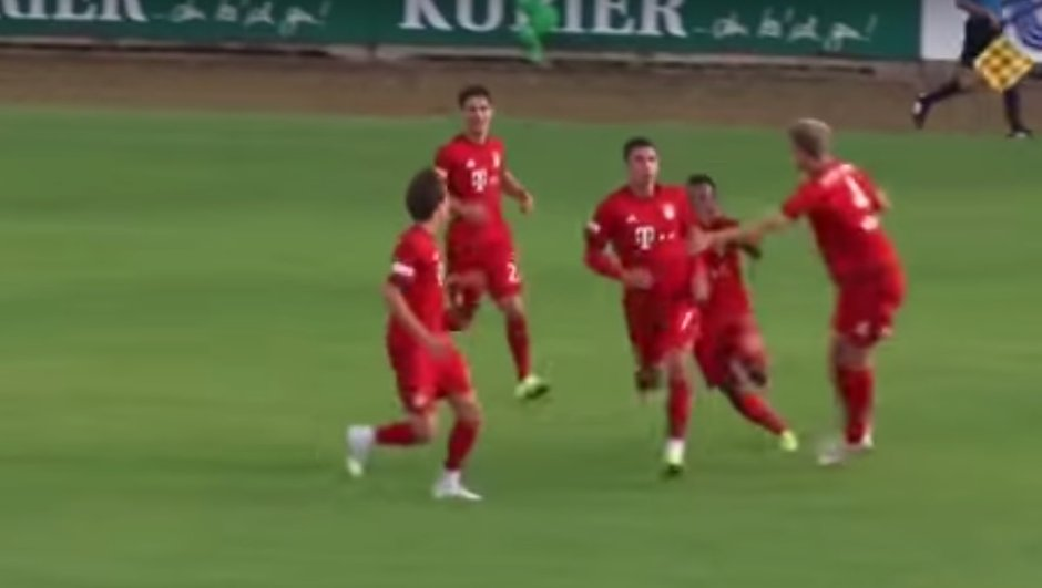 VIDEO : Ribéry marque un but splendide avec le Bayern Munich